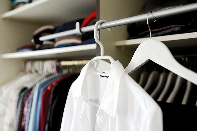 cupboard clothes